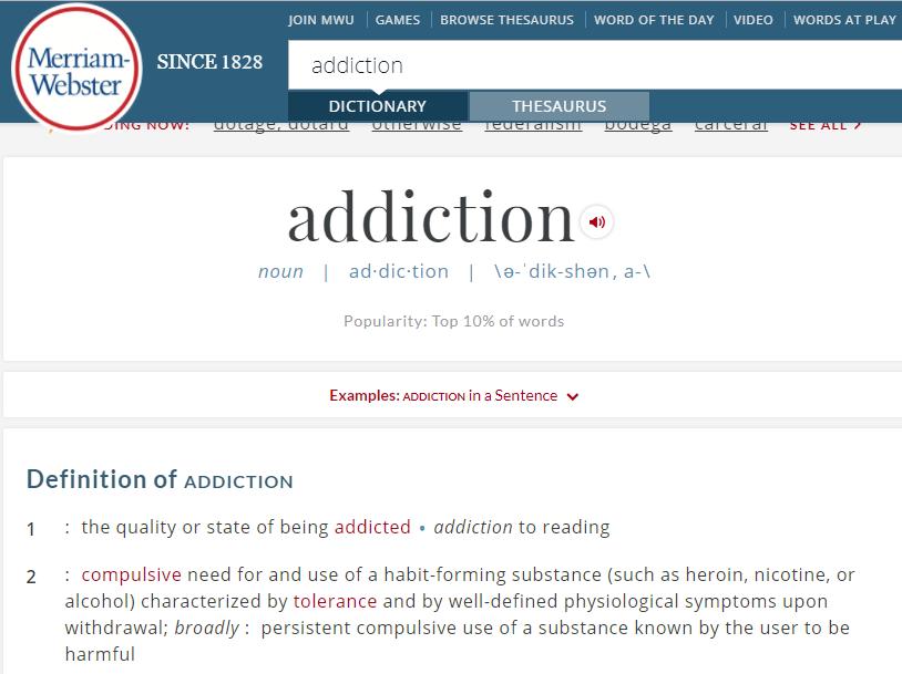 Music Addiction Disorder