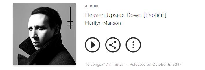 Heaven Upside Down 2017