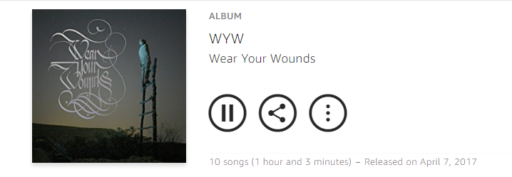 Wear Your Wounds 2017