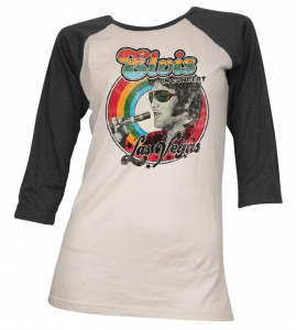 Elvis Presley - Women's Vintage Concert T Shirt