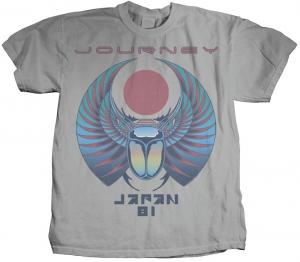 Journey - Japan 81 Men's Vintage Concert T-Shirts