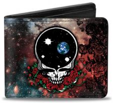 Grateful Dead Custom Bi-Fold Wallet - Christmas Gifts For Music Lovers