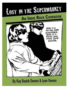Lost In The Supermarket Cookbook - Christmas Gifts For Music Lovers