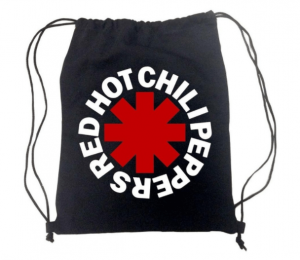Red Hot Chili Peppers Asterisk Drawstring Bag - Christmas Gifts For Music Lovers
