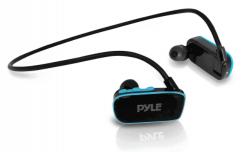 Pyle PSWP6BK - Waterproof MP3 Player - Waterproof Headphones For Swimming