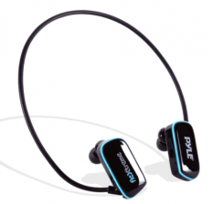 Pyle Flextreme Waterproof Sports Wearable MP3 Headset - Waterproof Headphones For Swimming