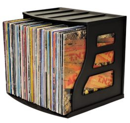 Binder Way Record Storage Crate - Best Way To Store Vinyl Records
