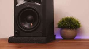 Studio Monitor Isolation Pads - M Audio BX5 D2 - Studio Monitors Review
