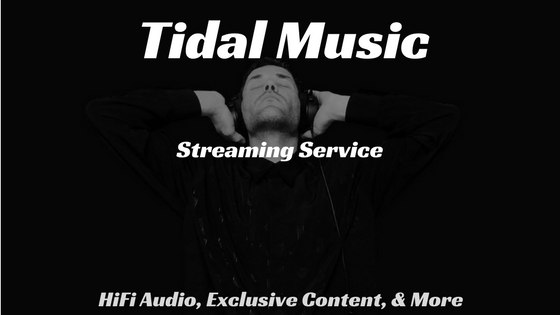 Tidal Music Streaming Service - HiFi Audio