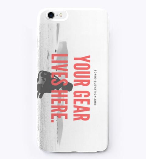 Your Gear Lives Here iPhone Case