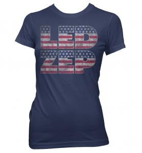 Led Zeppelin - Women's Vintage Concert T-Shirts