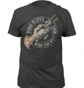 Pink Floyd - Wish You Were Here Men's Vintage Concert T Shirts