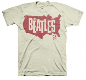 The Beatles - 1964 Men's Vintage Concert T-Shirts