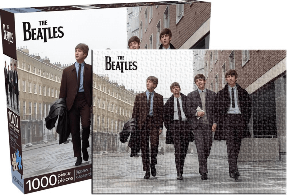 Beatles Street Color Puzzle - 20 Awesome Music Lovers Gifts