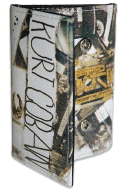 Kurt Cobain Collage Card Case - 20 Awesome Music Lovers Gifts