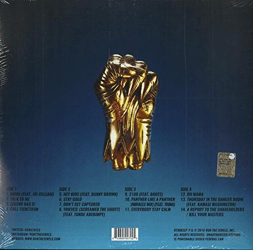Run The Jewels 3 LP by Run The Jewels
