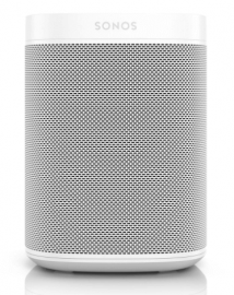 Sonos One White - Comparing The Sonos One vs. Amazon Echo