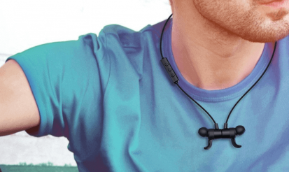 Magnetic Earbud Necklace Design - TaoTronics Bluetooth Headphones Review - TT-BH16 Wireless Earbuds
