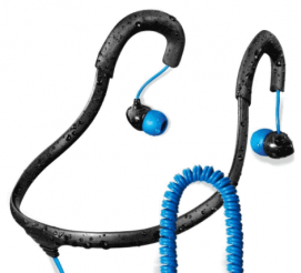 Surge Sportwrap+ IPX8 Waterproof Headphones For Swimming