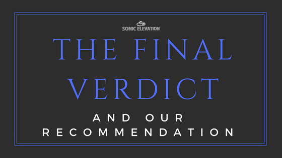 The Final Verdict - Audio Technica R70x Review