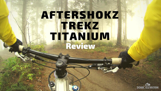 Aftershokz Trekz Titanium - Bluetooth Bone Conduction Headphones