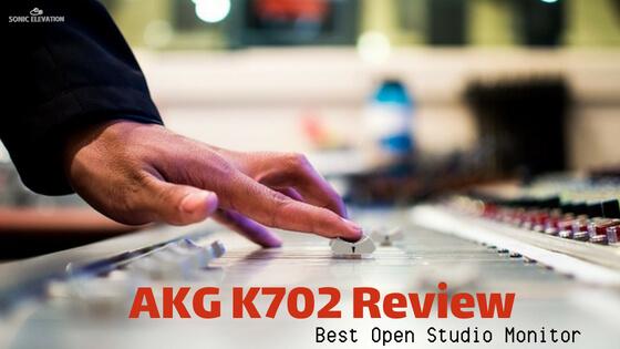 AKG K702 Open Back Studio Reference Headphones