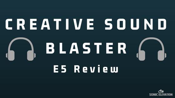 Creative Sound Blaster E5 USB DAC