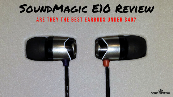 SoundMagic E10 Noise Isolating In-Ear Headphones
