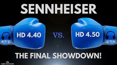 Sennheiser HD 4.40 vs 4.50 - The Final Showdown!