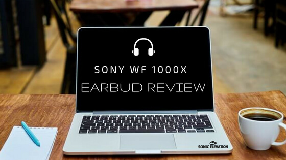 Sony WF 1000X True Wireless Noise Cancelling Earbuds