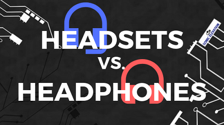 Headsets Vs. Headphones - The Main Difference Between Headsets And Headphones