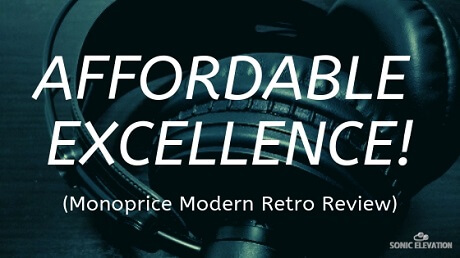 Monoprice Modern Retro Over-Ear Headphones